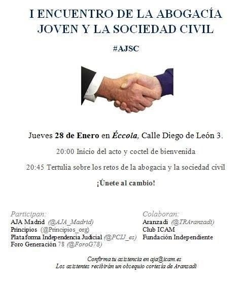 I Encuentro de la abogacía joven y la sociedad civil