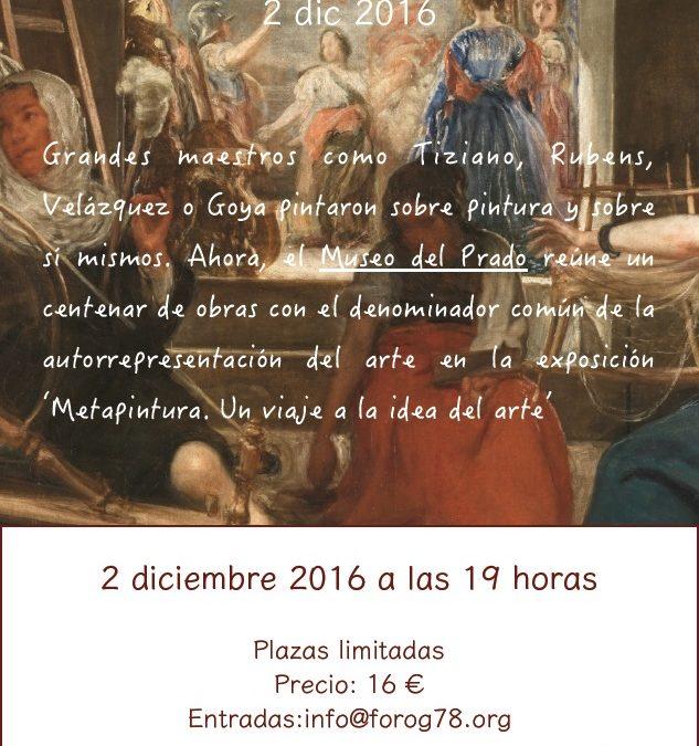 Visita guiada «Metapintura» Museo del Prado