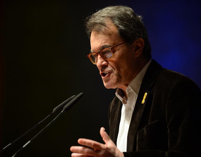 Artur Mas. Ex presidente de la Generalitat de Cataluña
