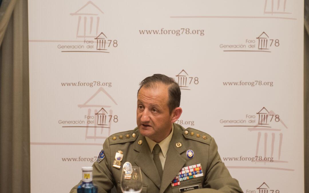 «La voluntad de servir del Ejército Español»